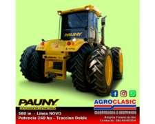 Tractor Pauny 580 IE Linea Novo