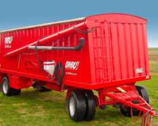 Tolva para Fertilizantes y Semillas de 24 M3 - Ombu