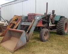 Tractor Fahr a 86 con Pala Cargadora Frontal