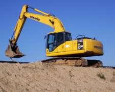 Excavadora S/ Orugas - 20 TN - 1 M3
