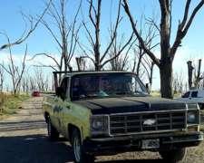 Camioneta Chevrolet C10 con GNC