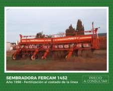 Sembradora Fercam 1452 - Año 1998