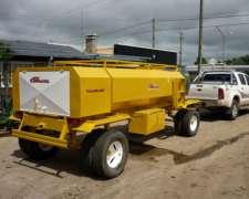 Acoplado Tanque Cisterna 5000 Combinado Trailer Cheques