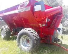 Tolva Ombu CRV 22 TN Nueva- Disponible- C/cub y Balanza-