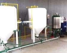 Equipo de Producción de Biodiesel Mod. B 100,