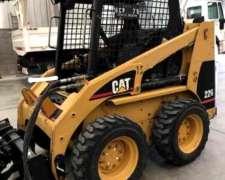 Minicarcadora Cat 226 + Brazo Excavador + Trailer