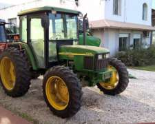 Tractor John Deere 5705, Doble Tracción, muy Bueno, 2007