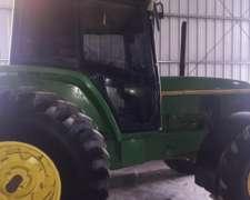 Tractor John Deere 6600, año 1998, 16.000 Horas, 120hp, DT