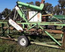 Extractora de Granos Palou de 9 Pies con Enrolla Bolsa.