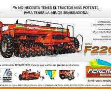 Sembradoras Fercam Financiacion 4 y 5 Años