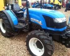 Tractor New Holland TDF 65, 75, 85 CV Producto Nacional