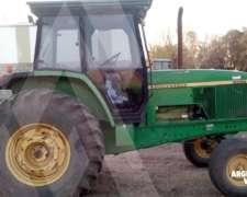 Tractor Jhon Deere 6500