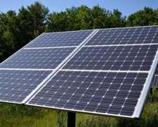 Paneles Solares Y Equipos De Bombeo