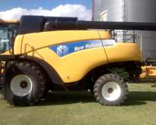 Cosechadora New Holland Cr9060 - Única, Excelente Estado