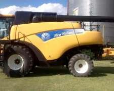 Cosechadora New Holland Cr9060 - Única, Excelente Estado