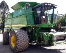 John Deere 9860 4X4 - año 2006 - 6800/6000 Hs - Duales