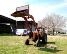 Tractor Fiat 800e con Pala Frontal