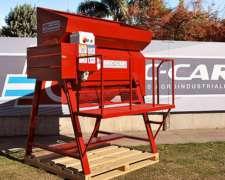 Trilladora P/planta Seca Hortaliza Destri 30-100 Bec - Car