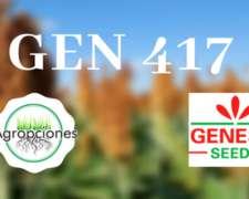 Gen 417 - Sorgo de Criadero Genesis
