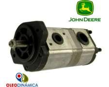 Bomba Hidráulica Doble de Engranajes 20+10.6 Cc/r John Deere