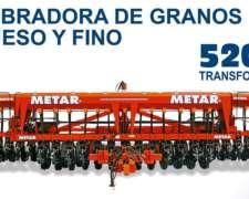 Sembradora de Grano Fino y Grueso Autotrailer Metar 5200