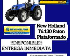 Tractor New Holland T6.130 (nuevo)