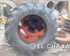 Cubierta Agricola para Tractor Marca Fate 14-9-26.-