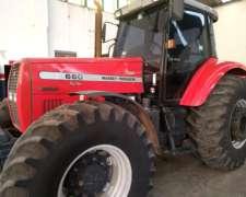 Tractor Massey Ferguson 660 Doble Tracción Cabinado