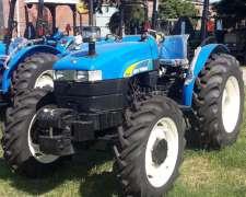 Tractores New Holland Plataformados (medianos).