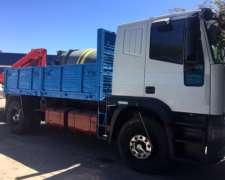 Camion Iveco Cursor 310 Con Hidrogrua Amco Veba