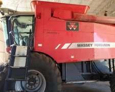 Cosechadora Massey Ferguson 9790 Doble Tracción Draper 35 PI
