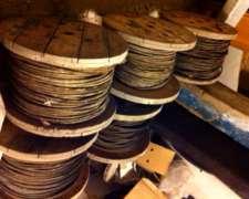 Cable Acero 13 MM Usado
