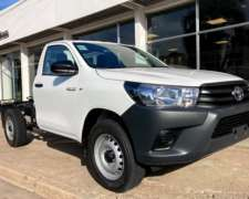 Hilux C/simple 2.4 TDI Chasis 0km MY21 Disponible Orio Hnos