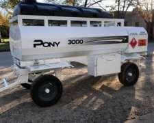 Acoplado Multiuso Pony MD: 3000 Lts. Nuevo