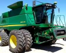 John Deere 9670 4X4 con Draper - Financiación en Pesos