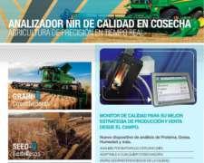 Grain-q Analizador NIR de Calidad en Cosecha/ NIR en Calada