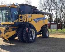 Cosechadora New Holland CR6080