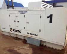 Grupo Electrógeno Cetec Modelo Cd688e SA 550 KVA Diesel