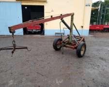 Pluma Hidráulica Casera para 1500 Kg