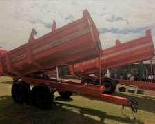Acoplado Volcador Forrajero Granelero Ipacol CFG 12.0 RT-20