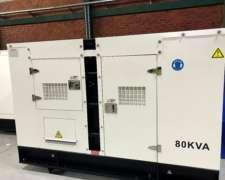 Grupo Electrogeno 80 KVA Perkins, Oferta Semanal