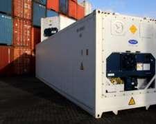 Container Camara Frigorífica Contenedor Refrigerados Carrier