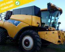 Cosechadora New Holland CR9060