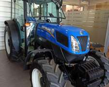 Tractor New Holland T4.105f 4wd Cabinado - 0km
