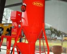 Mezclador de Granos Loyto - 1500 Kg /H (200 KG)