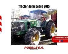 Tractor John Deere 6615 2006 Financiación en Pesos