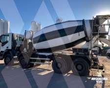 Camión Hormigonero Iveco Trakker (id538)