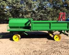 Acoplado Tanque Combinado - Directo De Fabrica