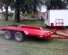 Trailer Alfa Para Transporte De Vehiculos