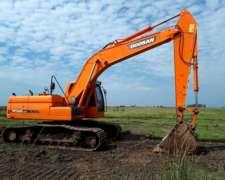 Excavadora Doosan DX225 - Brazo de 3,5 Metros